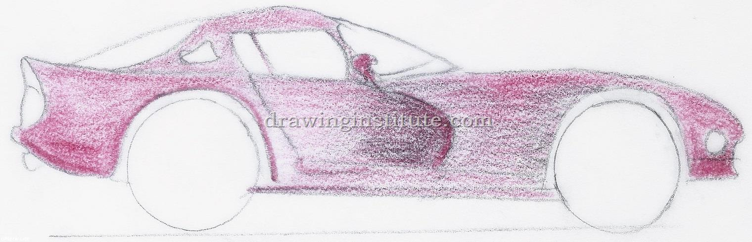 How to Draw a Sports Car Step by Step for Kids